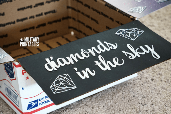 Diamonds in the sky care package 3