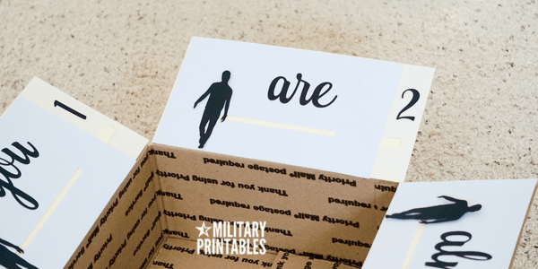Almost Home Care Package Idea Halfway There Interactive Slider Military Love