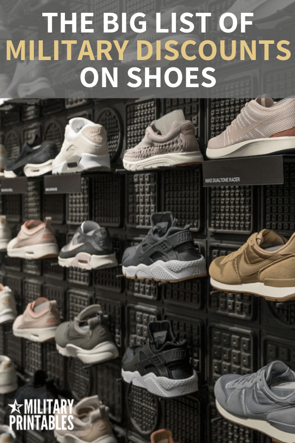 The Best Military Discounts On Shoes You Should Know About #military #militarydiscount #militarylife