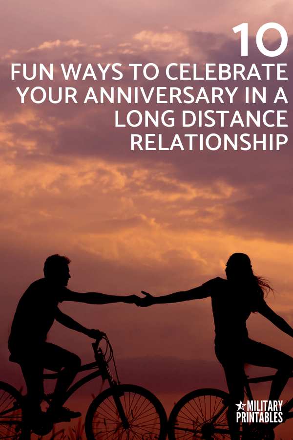 Fantastic Ways to Celebrate Your Anniversary in a Long Distance Relationship #ldr #longdistance #longdistancelove #longdistancerelationship