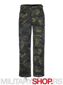 Woodland maskirne Pantalone Brandit ranger