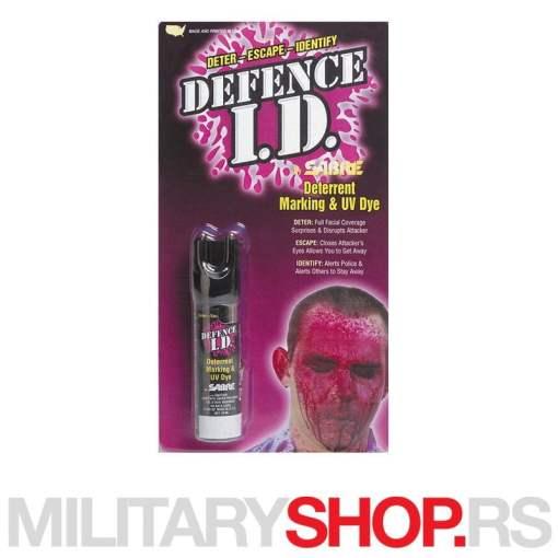 Sabre red biber sprej Defence ID sistem 2