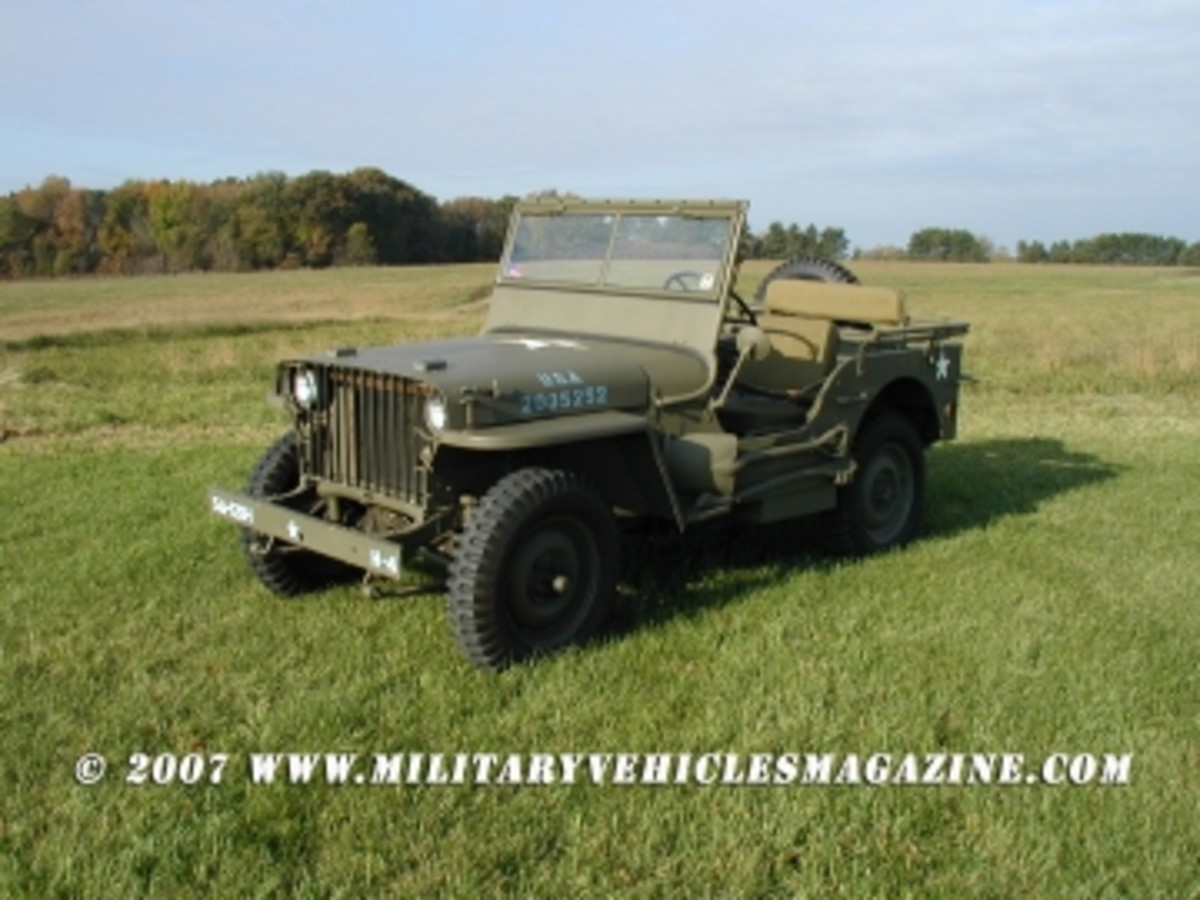 slat grille willys revisited military