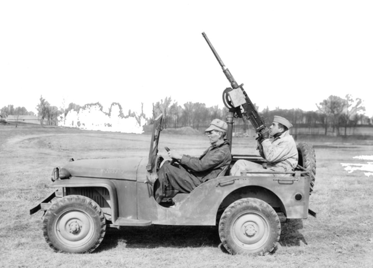 machine gun mounts for quarter ton