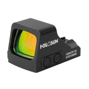 Holosun 407K-X2 Pistol Red Dot Sight Front