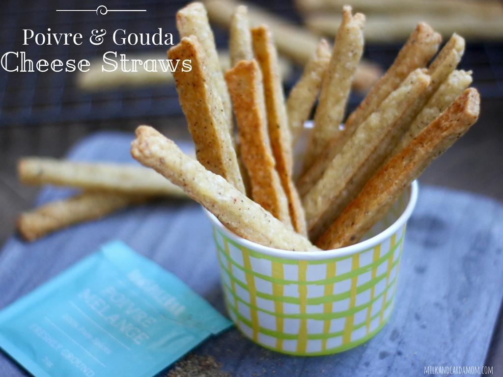 Poivre and Gouda Cheese Straws