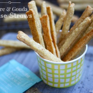 Poivre and Gouda Cheese Straws