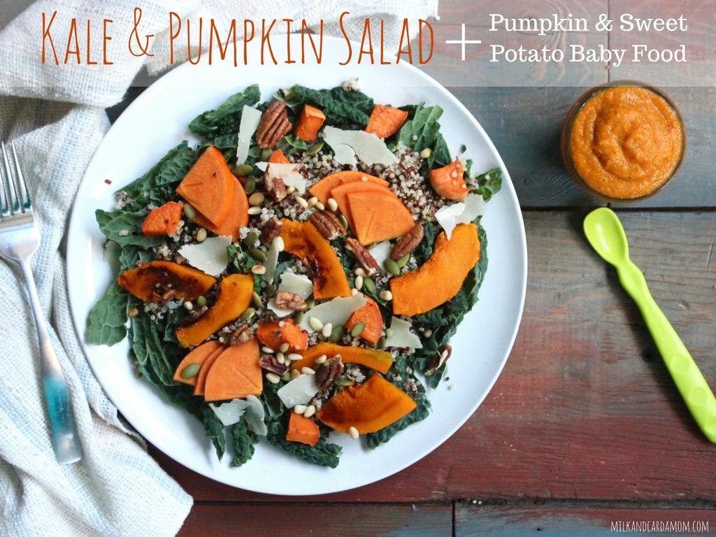 Baby food recipe milk cardamom family meal pumpkin kale salad and pumpkin quinoa sweet potato baby food forumfinder Images