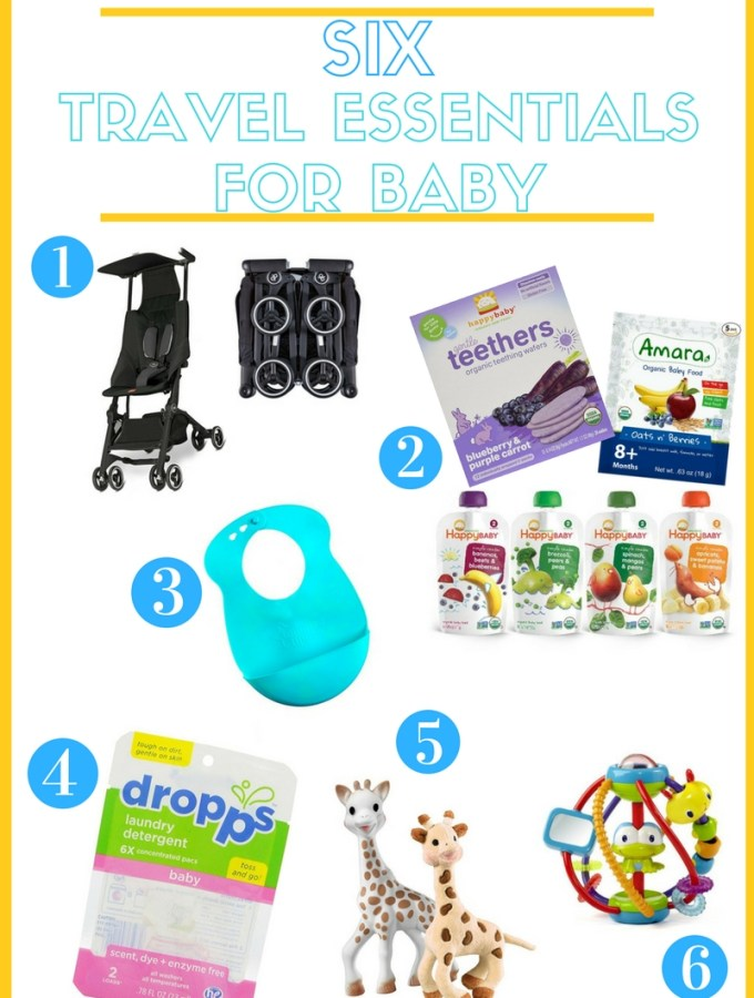Travel Essentials for Baby