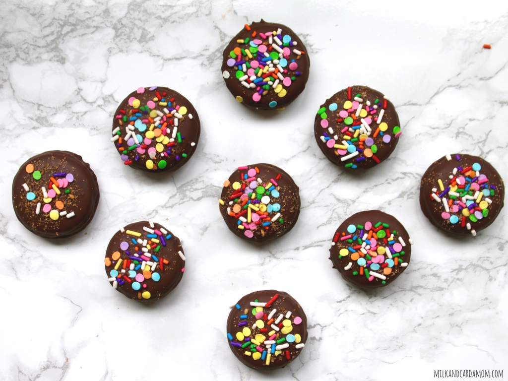 Chocolate Covered French Macarons
