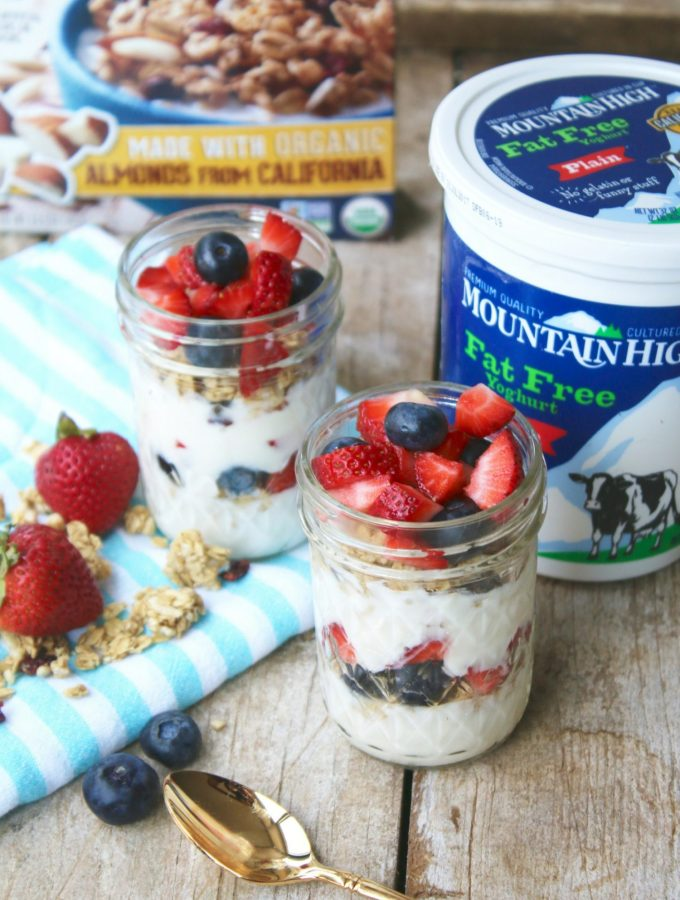 Berry and Granola Parfait