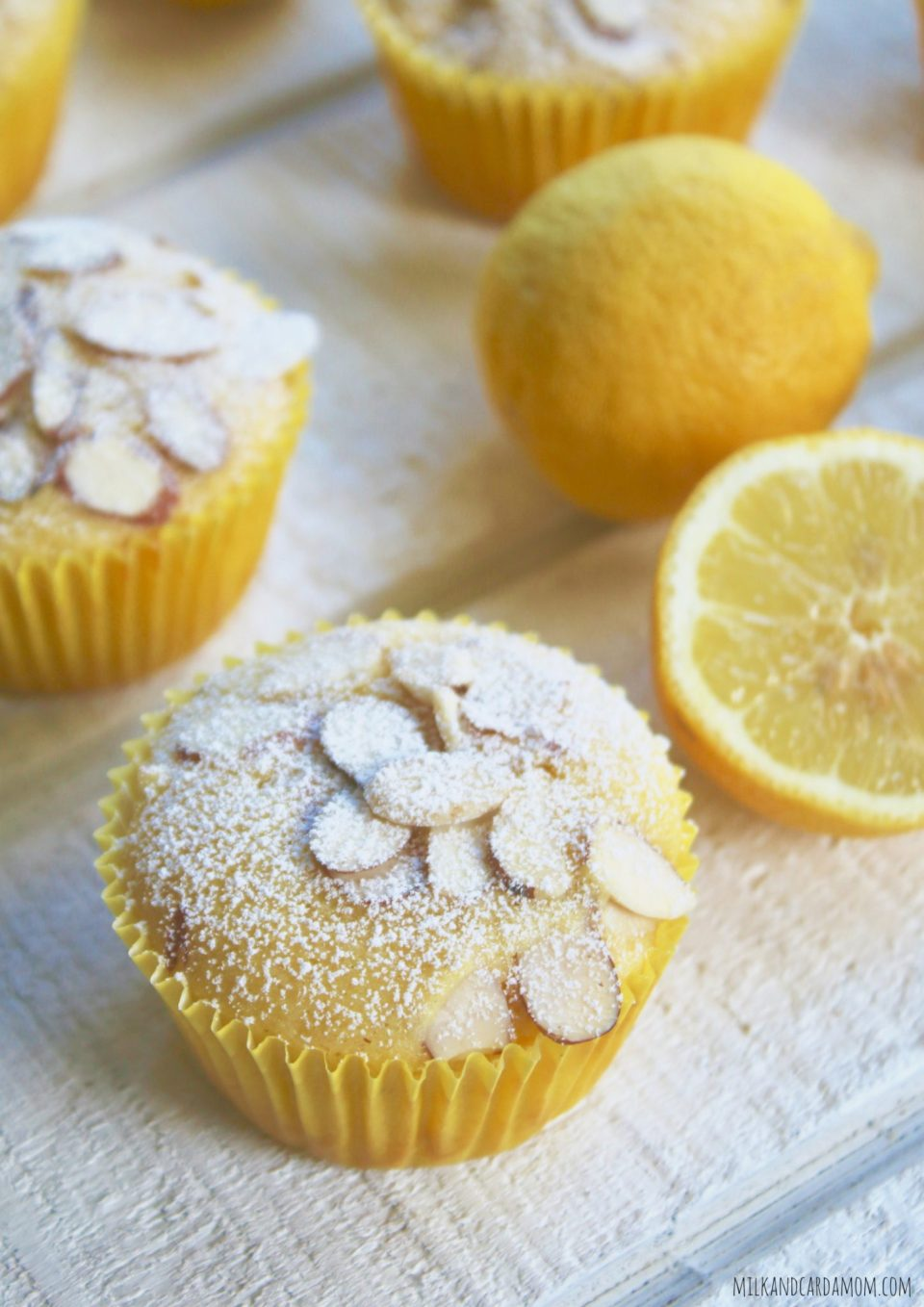 Lemon Olive Oil Cornmeal Muffins