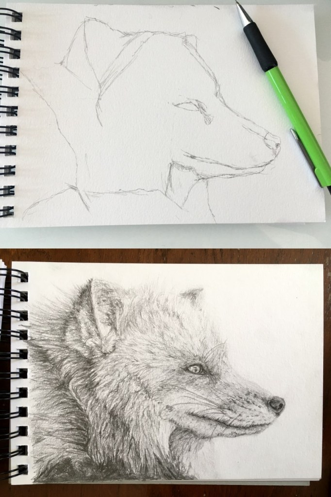how to draw with a mechanical pencil