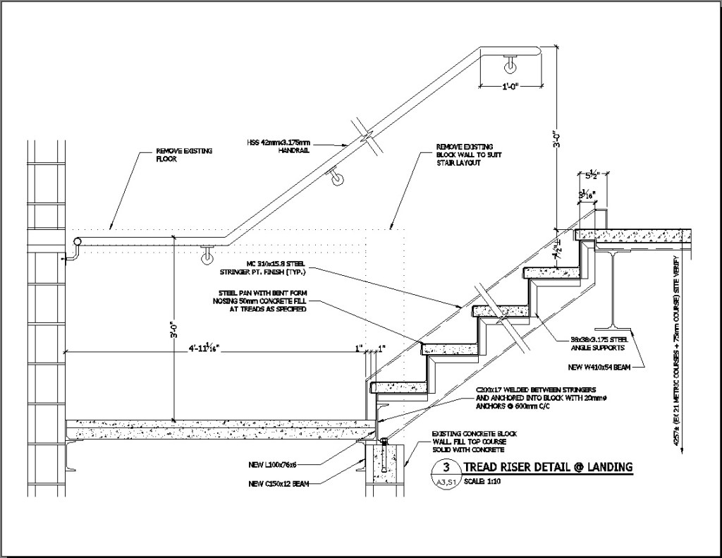 stairs details drawings home decorations insight from