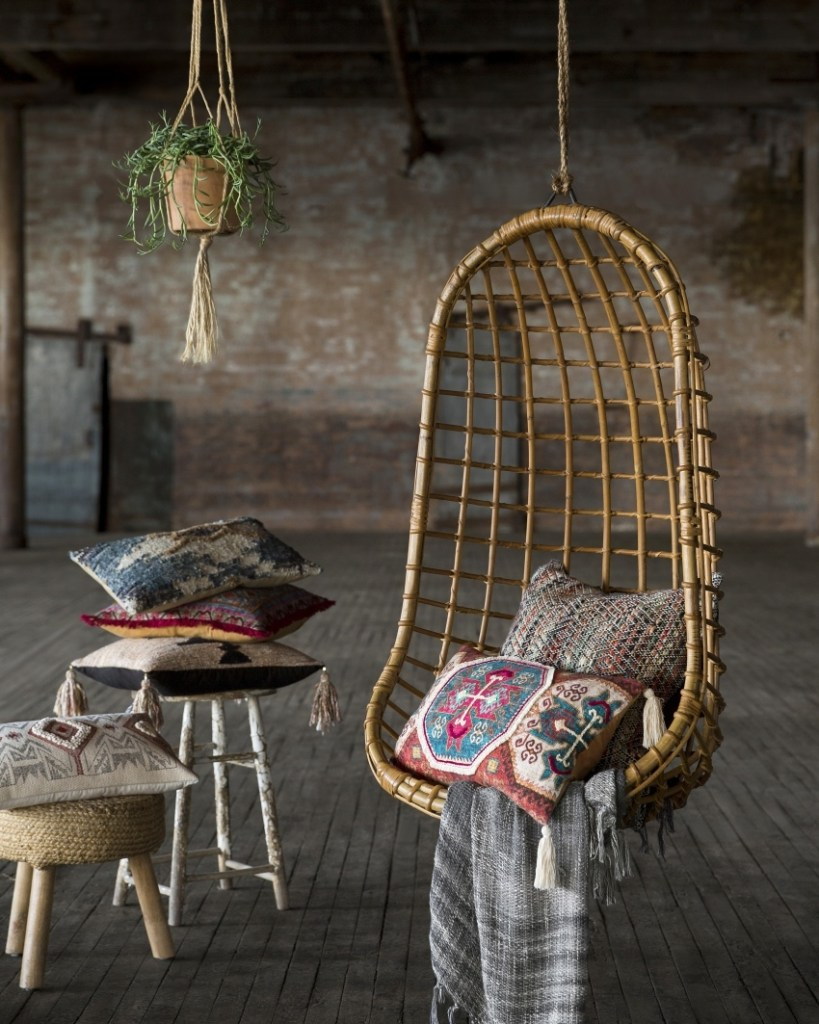 trend watch hanging wicker egg chairs for indoors out