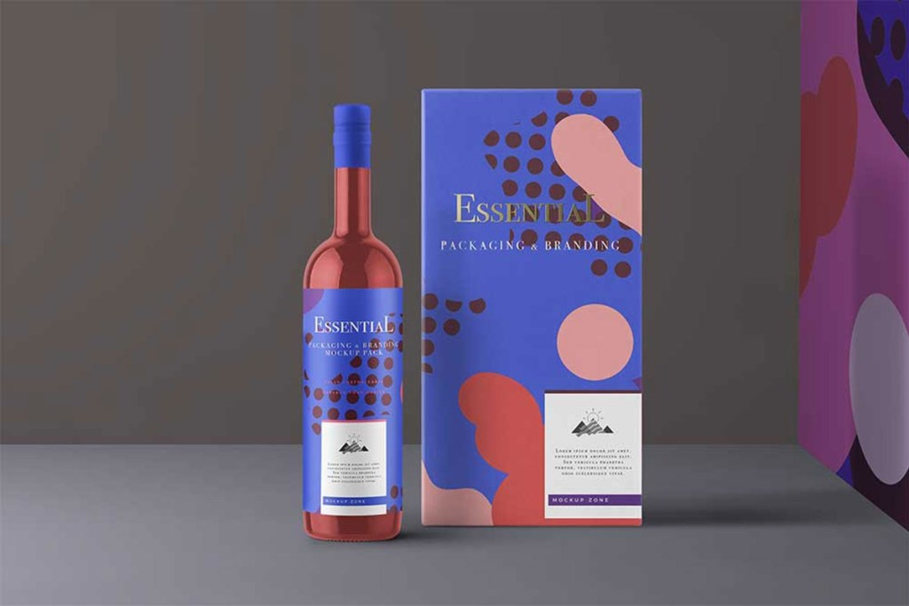 40 exceptional free wine bottle mockups for wineries colorlib