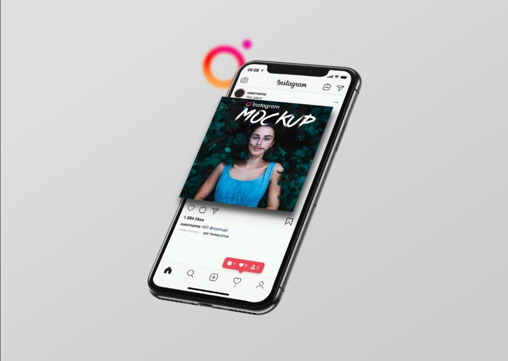 41 free instagram mockup psd template updated 2021