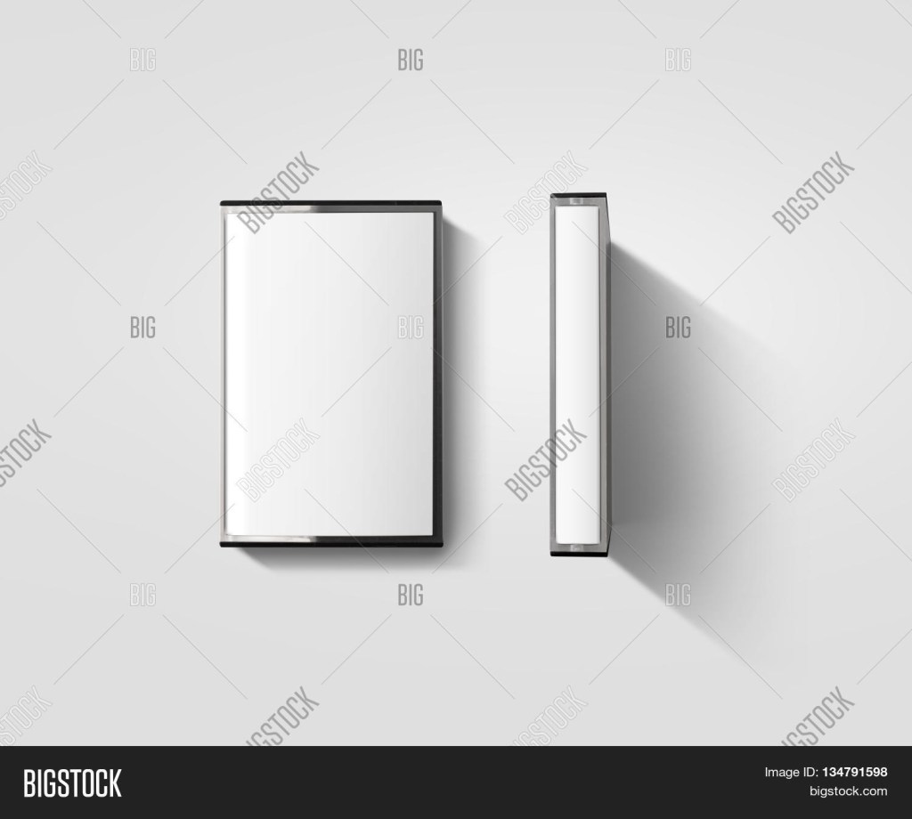blank cassette tape image photo free trial bigstock