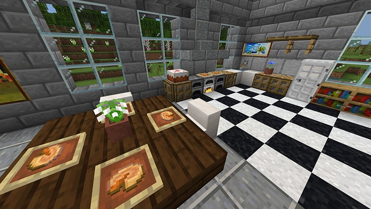 dining room minecraft the arts