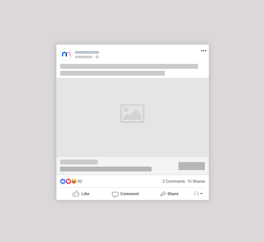 facebook sponsored post mockup generator mediamodifier