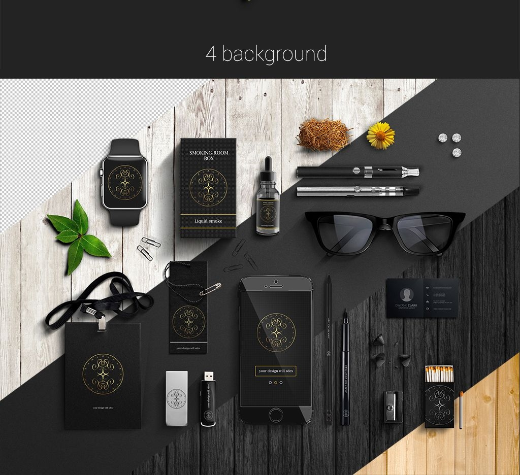 free corporate style psd mockup free design resources