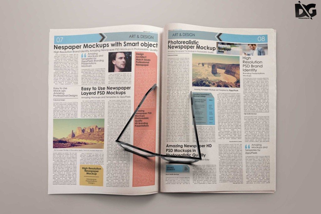 free mock up newspaper plain free psd mockup new mockup