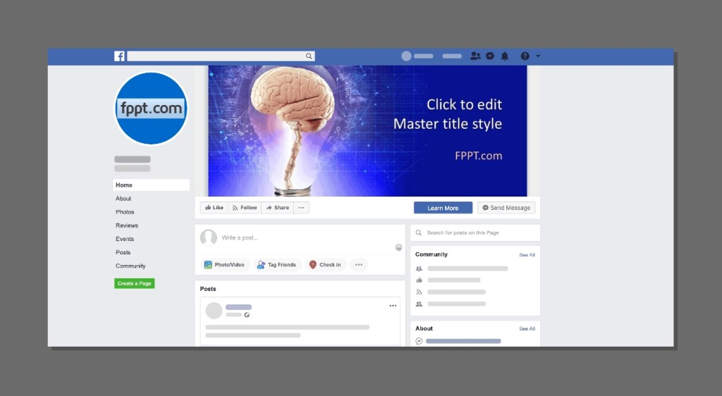 how to create a facebook mockup