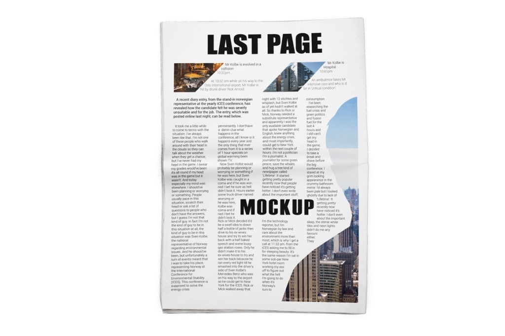 newspaper mockup mock up store thehungryjpeg