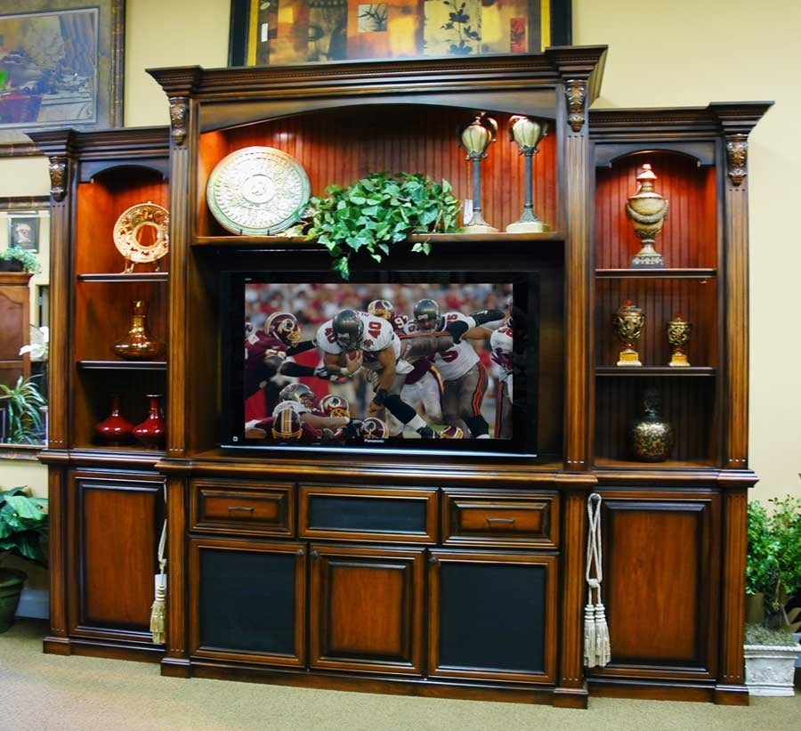 wall unit for big screen tv yelp