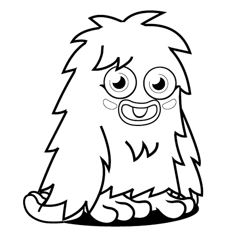 Best Monster Coloring Pages For Kids