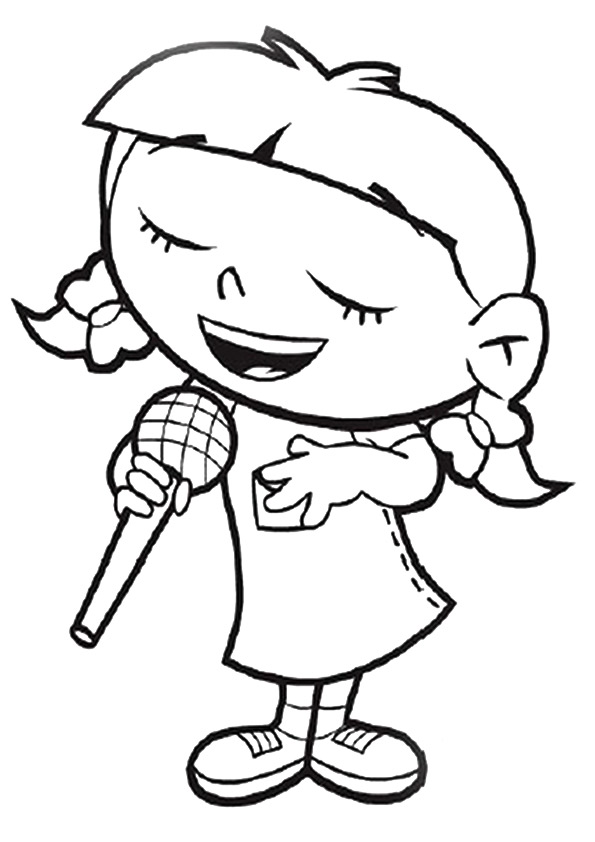 Cute Little Einsteins Coloring Pages Ideas