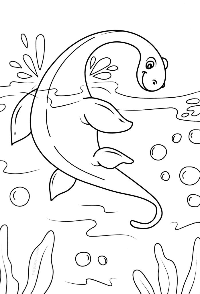 Image Monster Coloring Pages