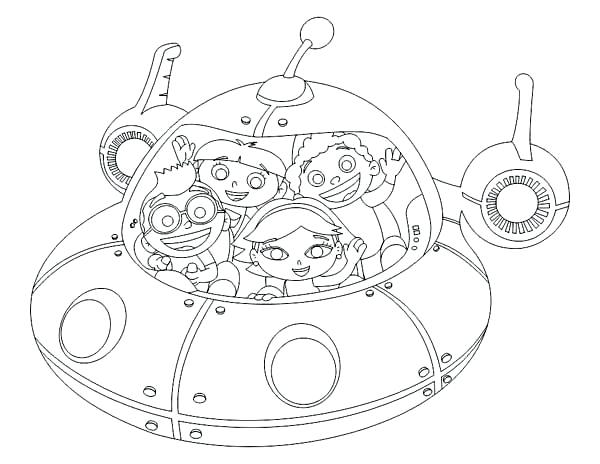 Little Einsteins Coloring Pages For High Schooler