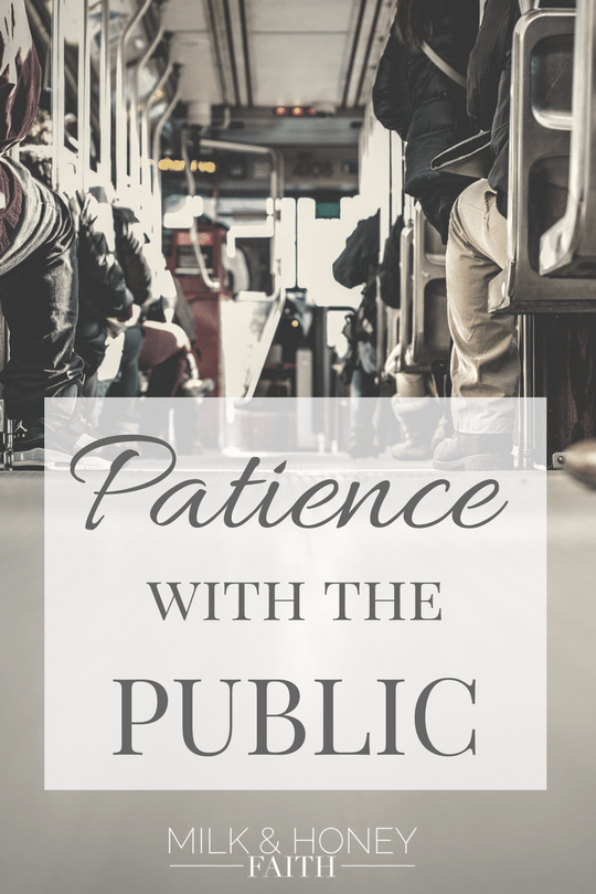 One of the best ways we can show the love of Christ is by being patient with the public. Jesus cares about people and so should we.