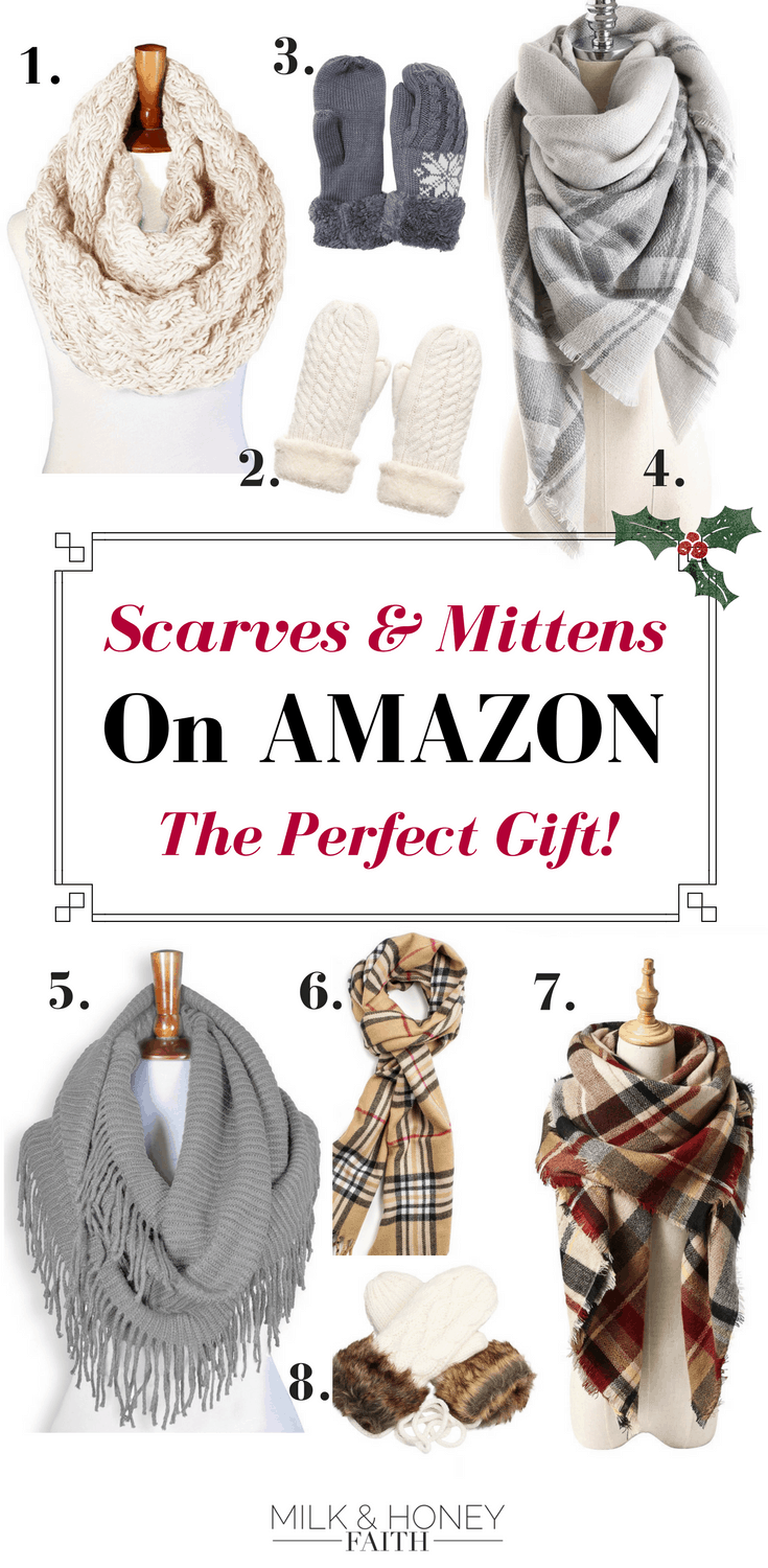 Buy the perfect gift! Scarves and Mittens on Amazon. Bring home the gift of warm and fuzzy
