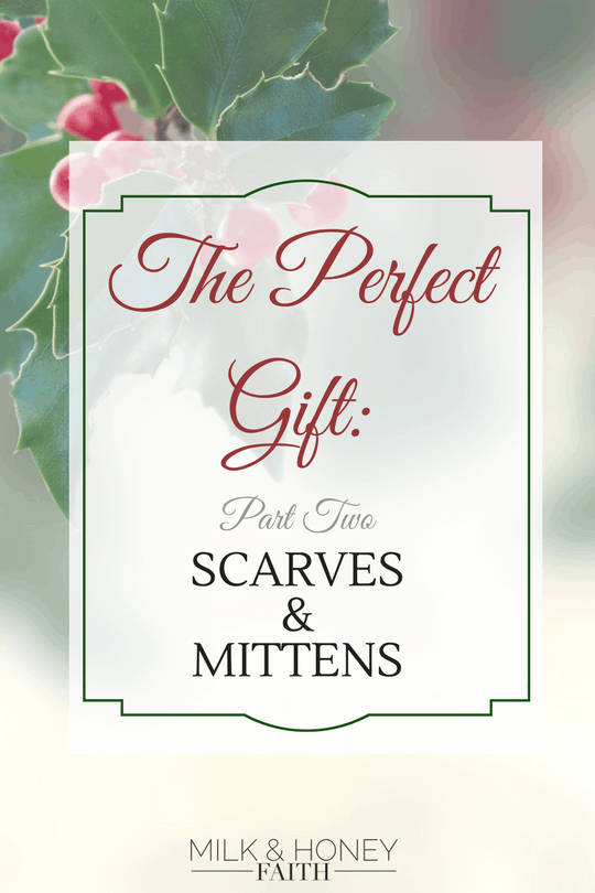 The Perfect Gift: Scarves & Mittens! Give the gift of warm and fuzzy over on Amazon. Choose the perfect gift for those you love and keep warm through the season.