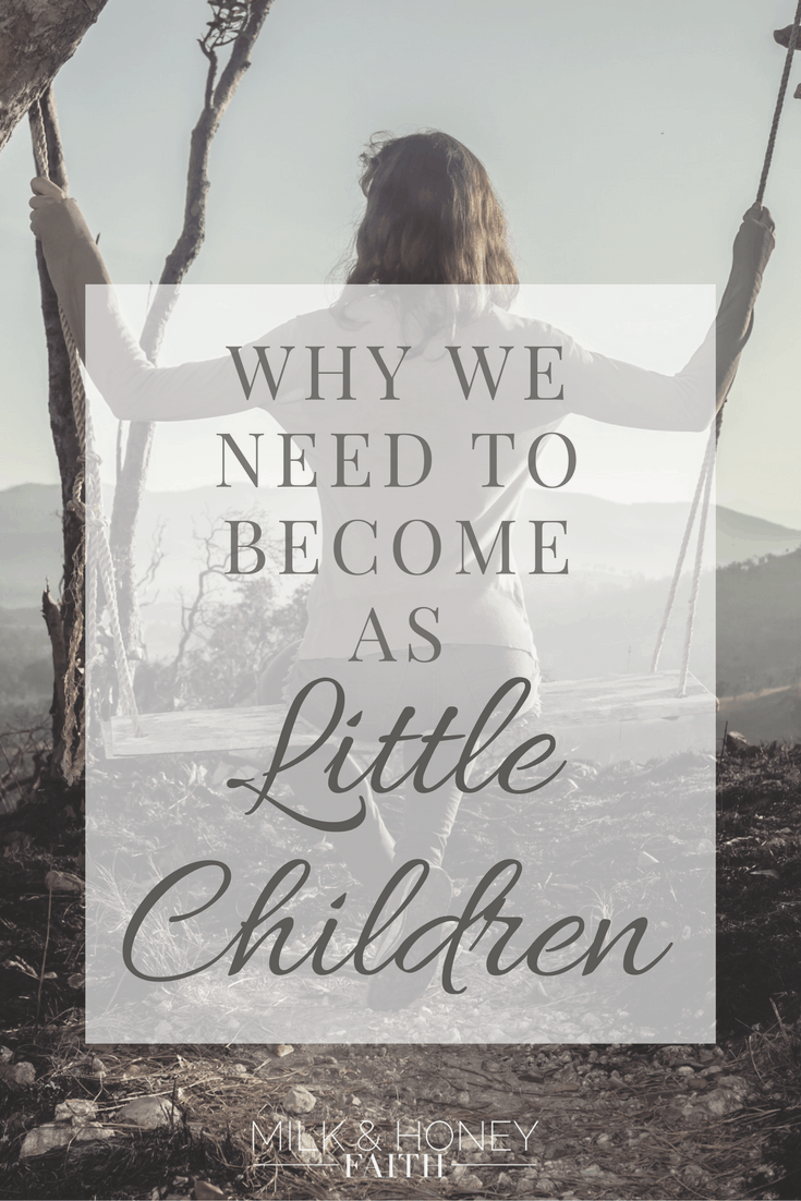 Read about what Jesus says regarding little children and the Kingdom of Heaven. We are to become as little children and love others more than ourselves.