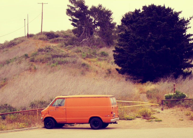 ventura-california-orange-van