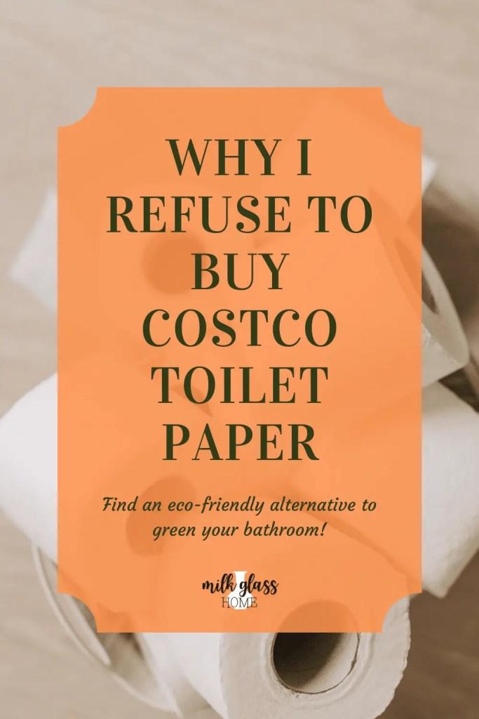 eco-friendly toilet paper pin