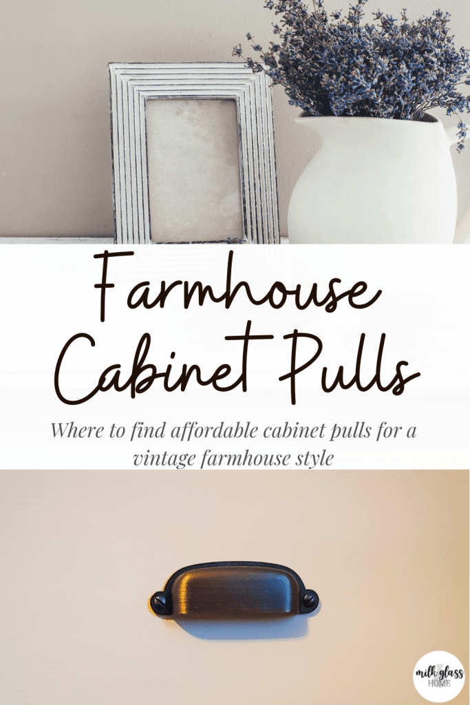 affordable farmhouse cabinet pulls