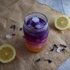 Butterfly Pea Ombré Lemonade
