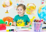 Image of little boy in preschool