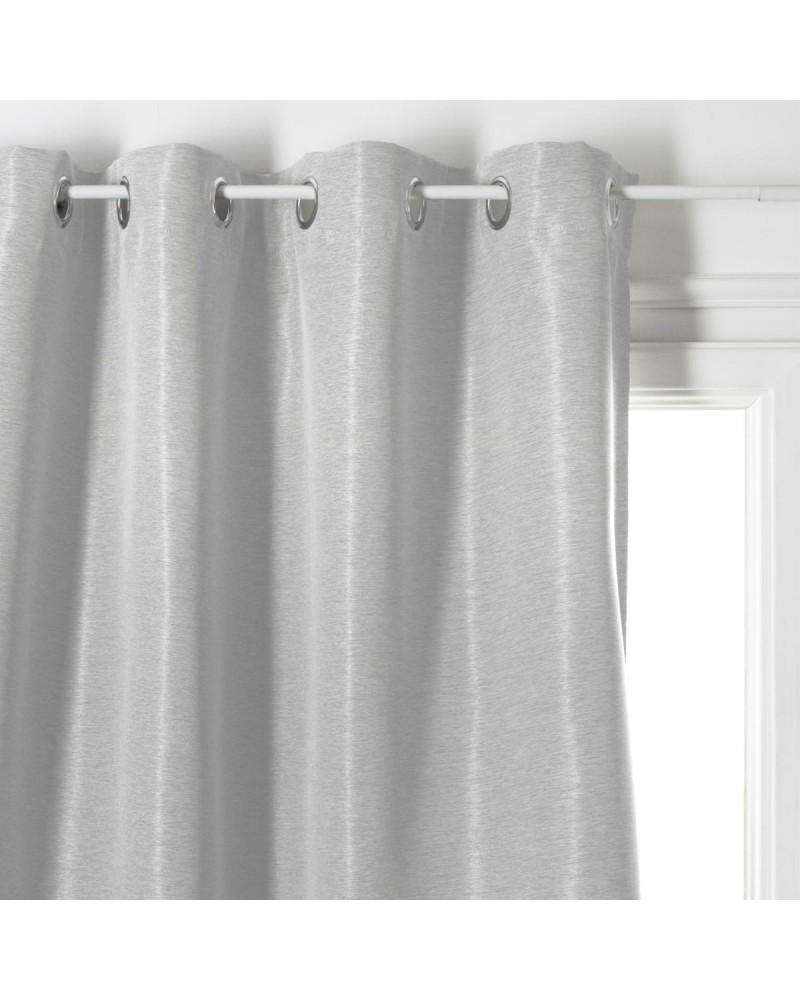 rideau occultant gris clair injoin 140x260