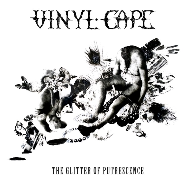Vinyl Cape- Glitter of Putrescence