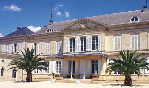 chateau peyronnet salle de mariage gironde vue entrée