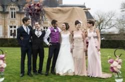 Mariage champêtre au domaine de rebetz par Millemariages les trois couples
