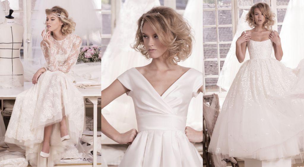 Robes de mariée créateur ATELIER EMELIA