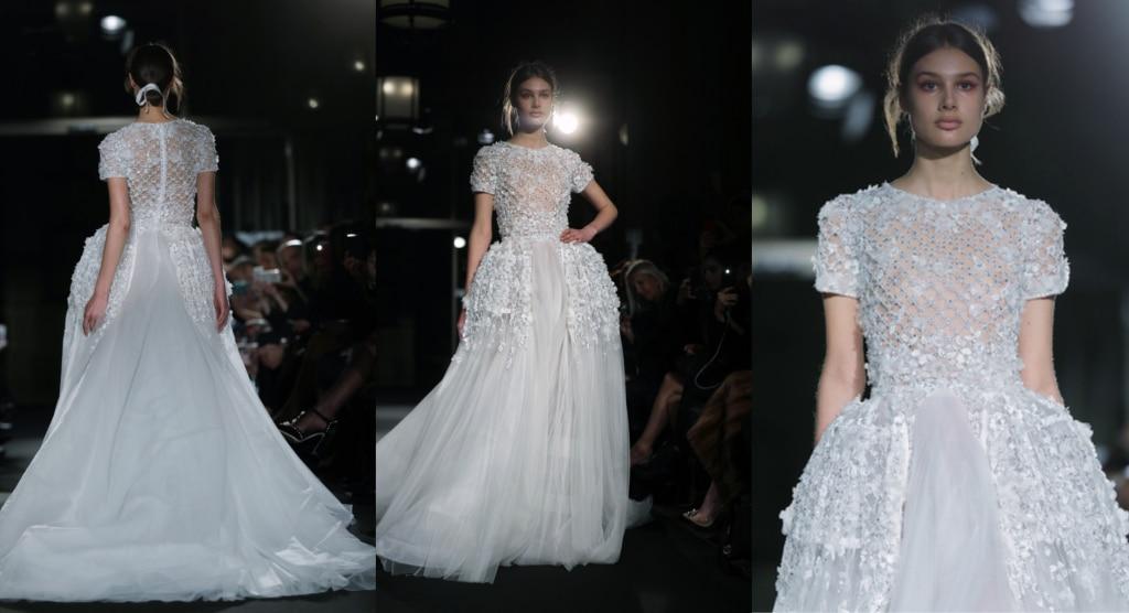 DANY ATRACHE – Défilé printemps-été 2018 – robe cocktail – soir – mariage