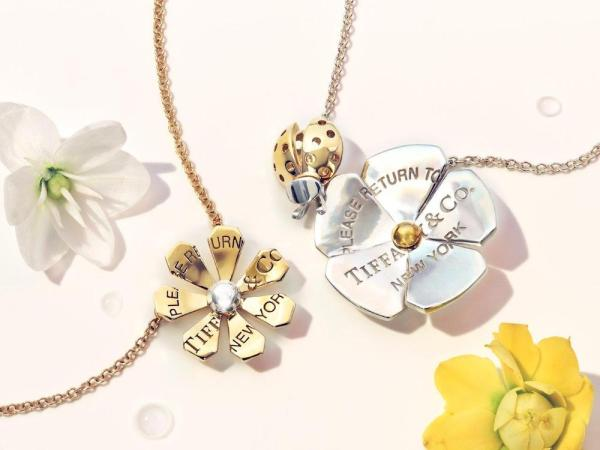 TIFFANY-CO.-RETURN-TO-TIFFANY-LOVE-BUGS-COLLECTION coccinelle et fleur