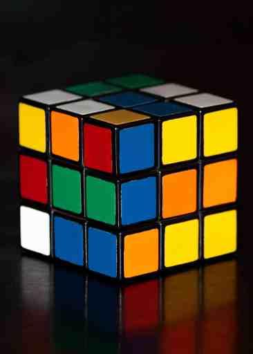 Un Rubik's cube. Ou l'analogie des finances personnelles.